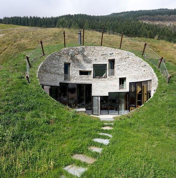 Les architectures insolites Maison10