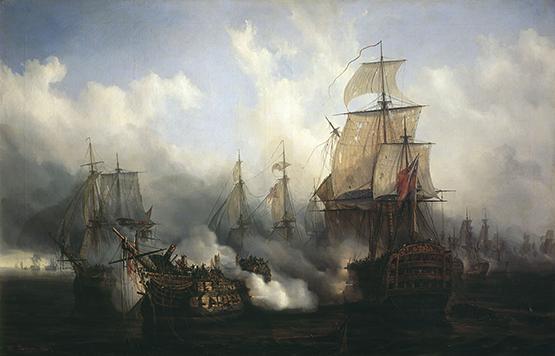 vaisseau absent a Trafalgar Den43_10