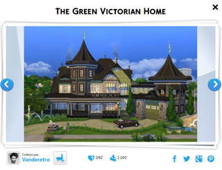 The Green Victorian Home Green12