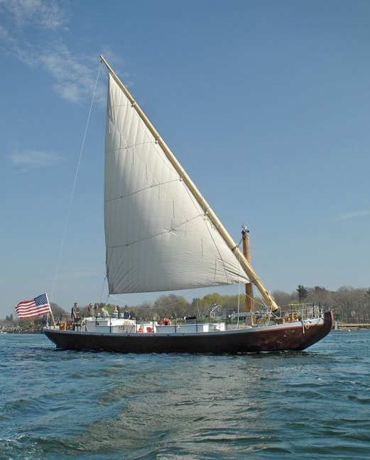 « Gunboat » de la Révolution américaine, Sail_210