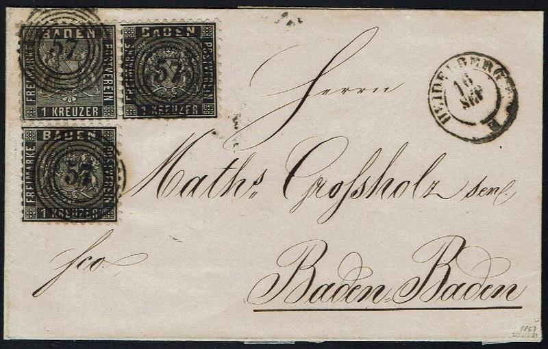 Baden: Schöne Briefe aus Heidelberg - Seite 2 13a-1310