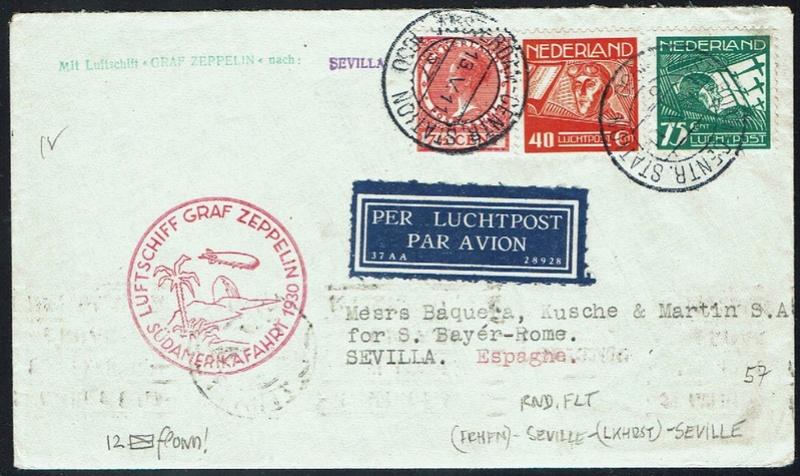 nach - Südamerikafahrt 1930, Post nach Sevilla - Seite 2 57_i_n12