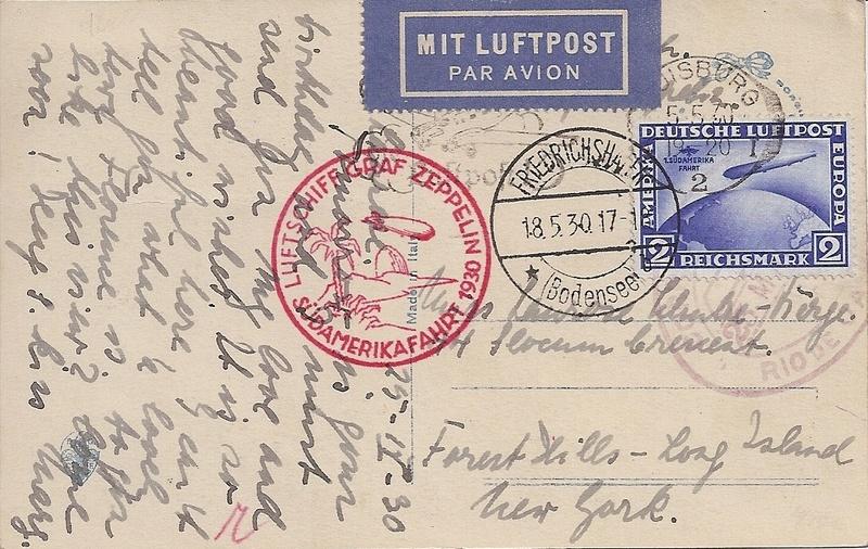 nach - Südamerikafahrt 1930, Post nach Rio de Janeiro - Seite 3 57_m_d12