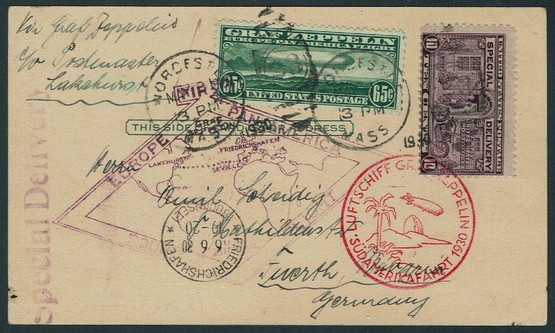 """nach - Südamerikafahrt 1930 (Rundfahrt-) Post nach Friedrichshafen"""" - Seite 7 64_f_s10"""