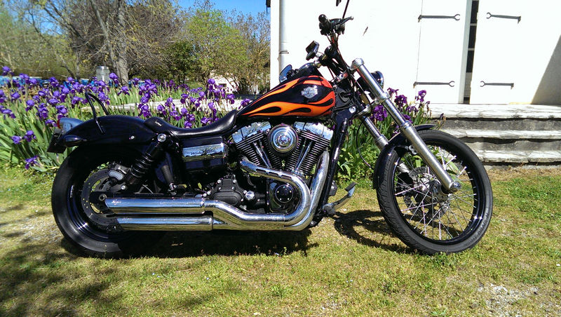 CVO Softail Deluxe 2014 Candy Cobalt: the Blue Diamond - Page 2 L_imag41