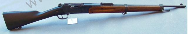 """""""carabine"""" Lebel pour une utilisation dans l'Armée d'afrique  Copyri10"""