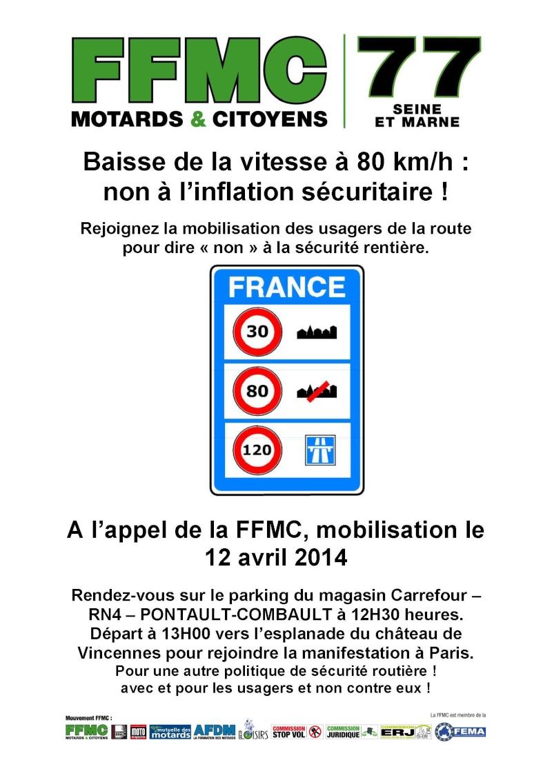Limitation à 80 km/h : manifs FFMC les 12/13 avril 2014 - Page 3 Affich10