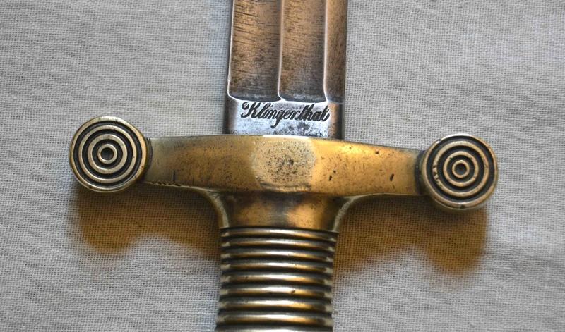 Un mystérieux glaive 1855  Klinge10