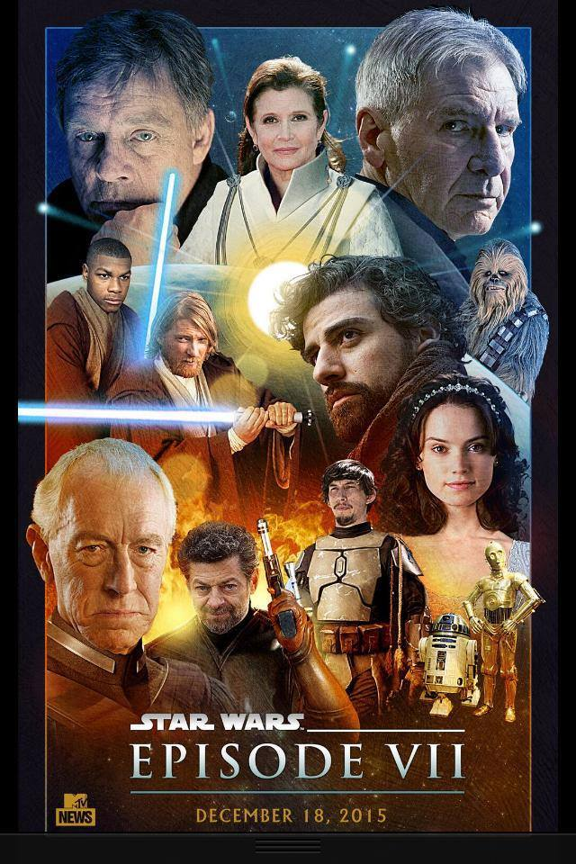 7 - Les posters de Star Wars The Force Awakens - Page 3 10155310
