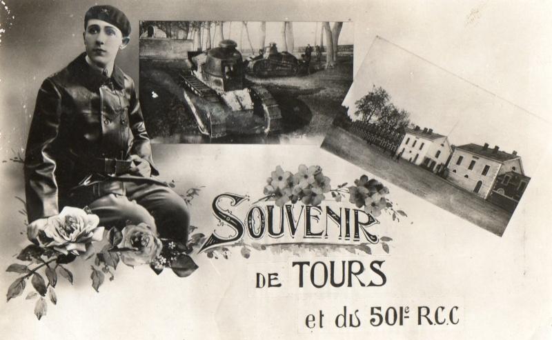 Theme de collection le  501 Regiment de char de combat  Cpa_5011