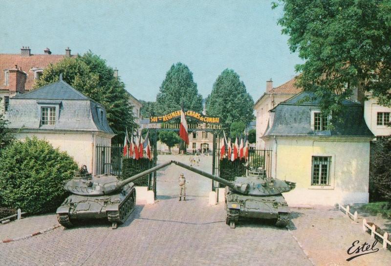 Theme de collection le  501 Regiment de char de combat  Cpa_ra10