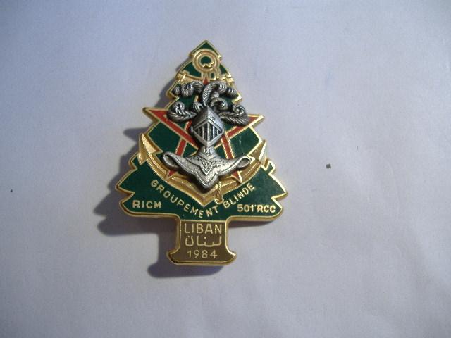 Theme de collection le  501 Regiment de char de combat  Insign34
