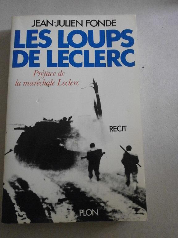 livre les loups de Leclerc de Jean Julien Fonde Z-livr18