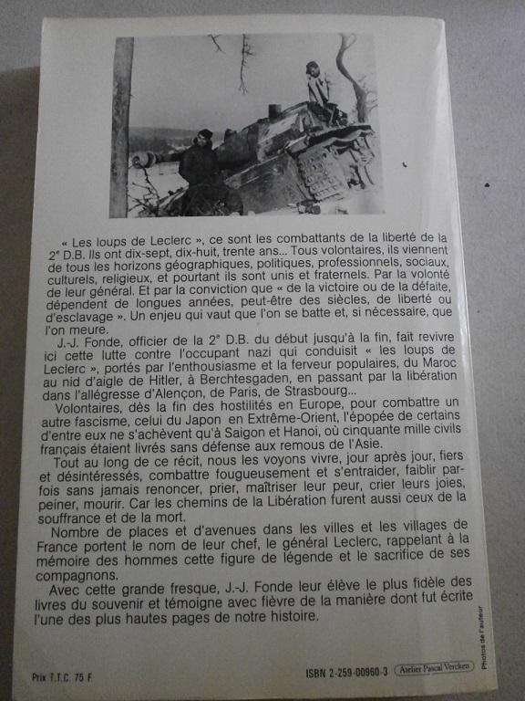 livre les loups de Leclerc de Jean Julien Fonde Z-livr19