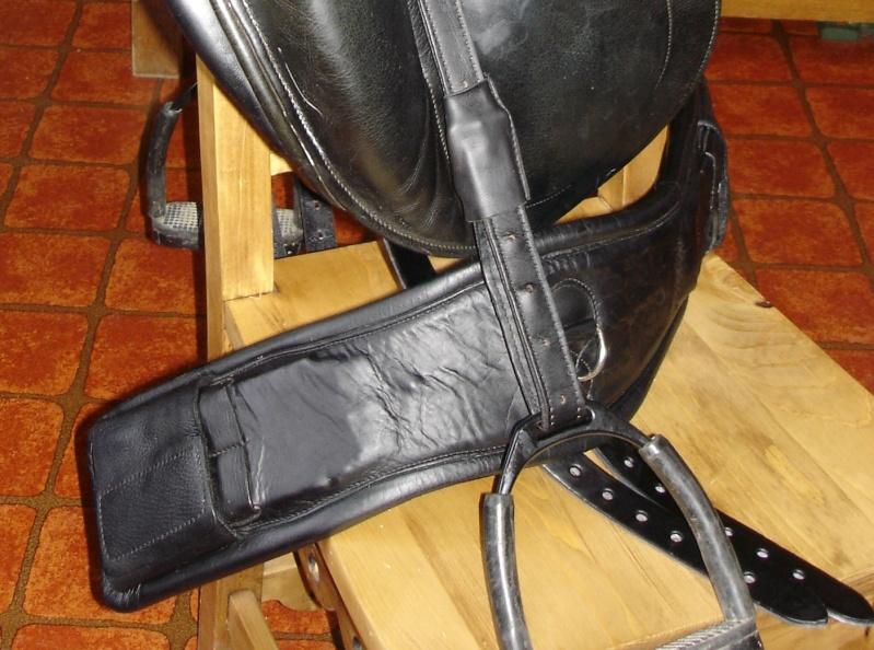 Sangle dressage noire Childeric 65cm Dsc08712