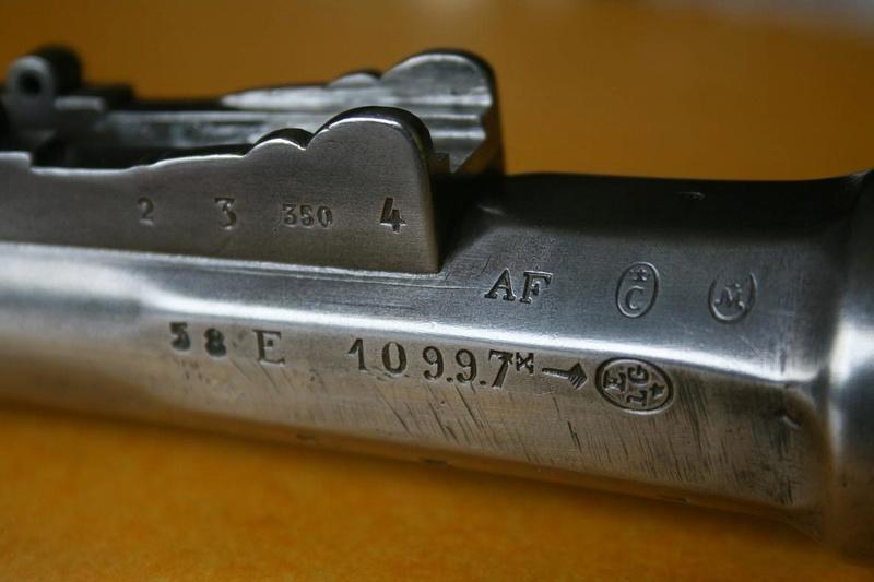 Fusil Mle 1866 Chassepot transformé pour cartouche à étui métallique  Chasse17