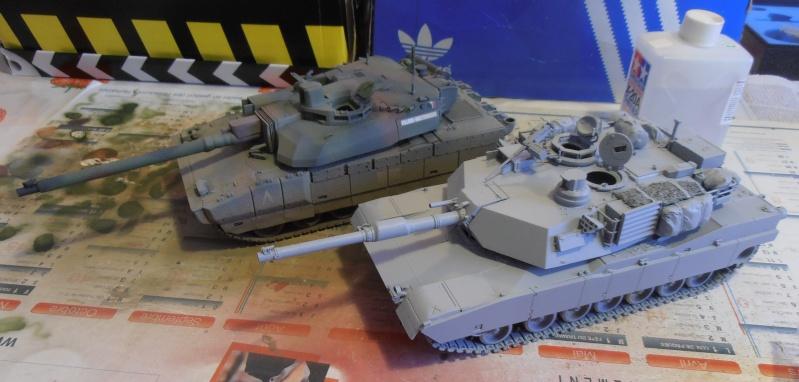 peinture - M1a1 Abrams ( la peinture ) P2081010