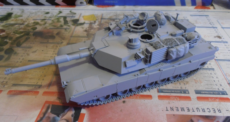 peinture - M1a1 Abrams ( la peinture ) P2081011