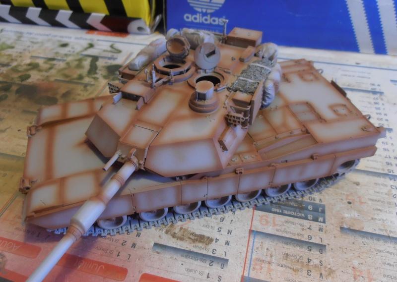 peinture - M1a1 Abrams ( la peinture ) P2081013