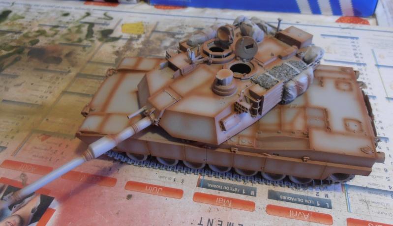 peinture - M1a1 Abrams ( la peinture ) P2081014