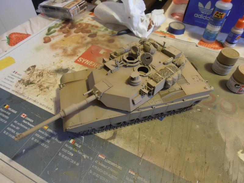 peinture - M1a1 Abrams ( la peinture ) P2081020