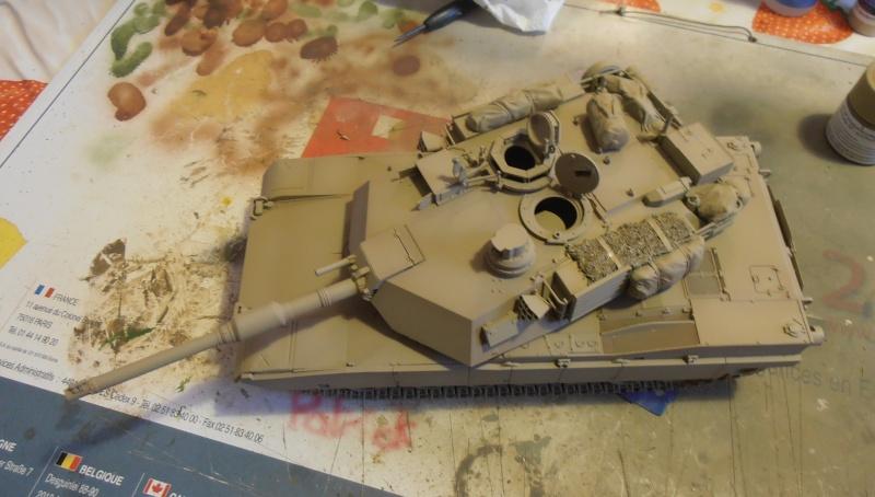 peinture - M1a1 Abrams ( la peinture ) P2081021
