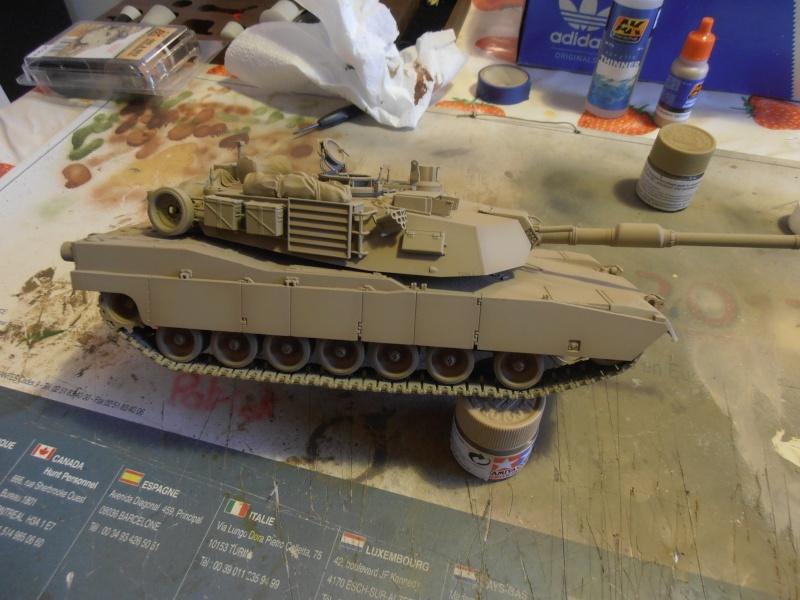 peinture - M1a1 Abrams ( la peinture ) P2081022