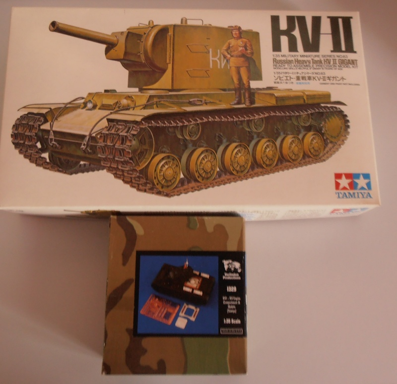 KV II [Tamiya, 1/35] + Aftermarket  ( Termine!!!!!!!!) P2151111