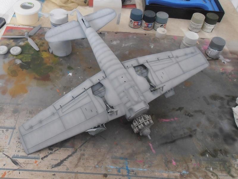 GRUMMAN F6F-5 Hellcat (Hasegawa 1/32eme) - Page 2 P3131111