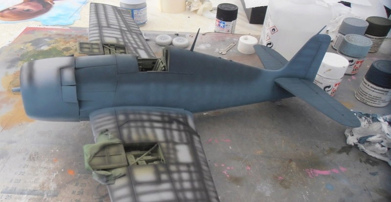GRUMMAN F6F-5 Hellcat (Hasegawa 1/32eme) - Page 2 P3131210
