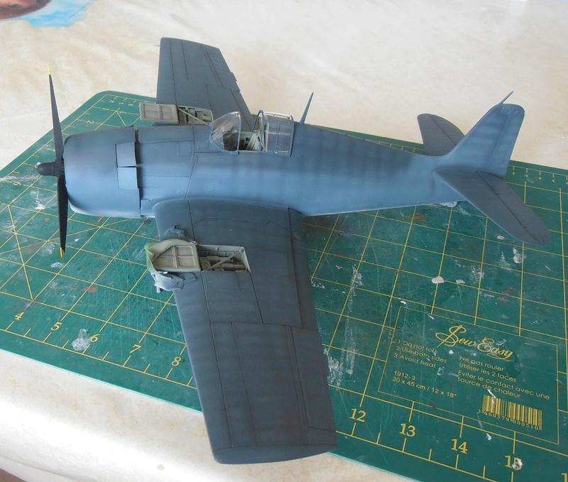 GRUMMAN F6F-5 Hellcat (Hasegawa 1/32eme) - Page 2 P3131215