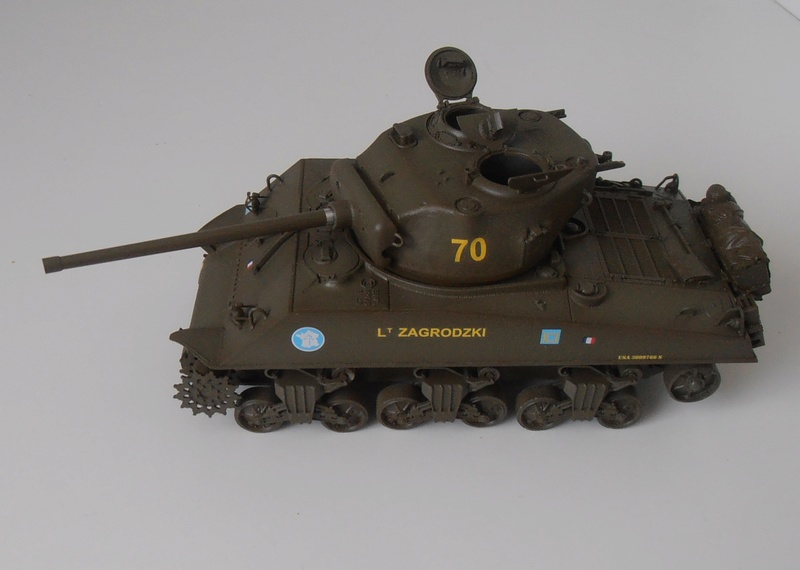 "Sherman M4a3 76 mm "" 2 eme DB ""  ( 1/35eme, dragon ) P5041610"