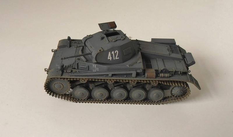 """Panzer II """" France 1940 """" (Tamiya au 1/35) P5081610"""