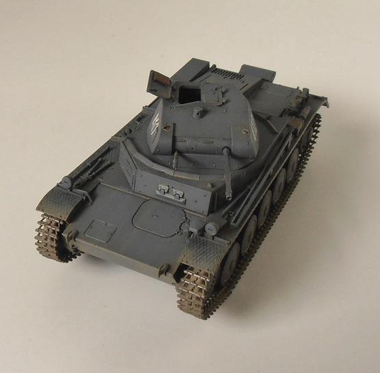 """Panzer II """" France 1940 """" (Tamiya au 1/35) P5081611"""