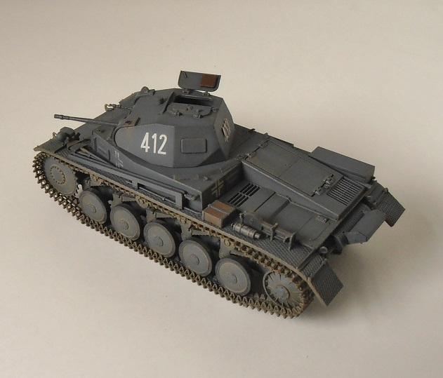 """Panzer II """" France 1940 """" (Tamiya au 1/35) P5081612"""