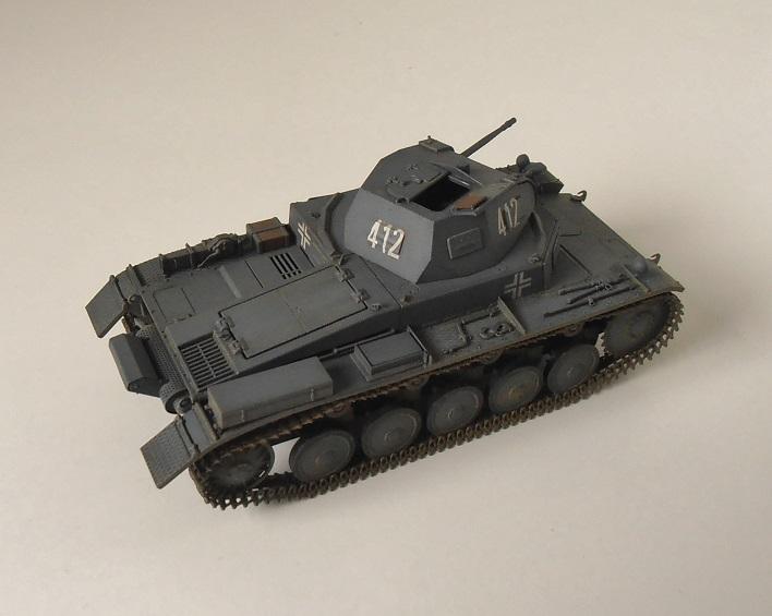 """Panzer II """" France 1940 """" (Tamiya au 1/35) P5081613"""