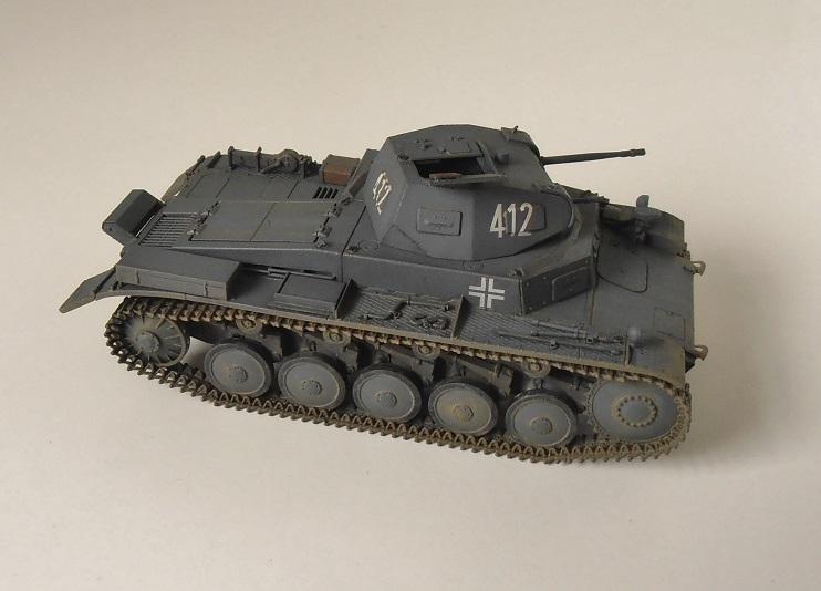 """Panzer II """" France 1940 """" (Tamiya au 1/35) P5081614"""