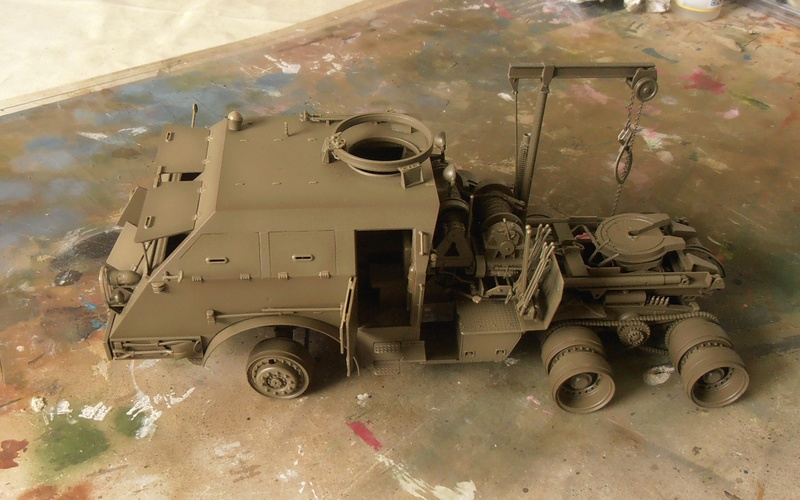 M26 Dragon wagon Tamiya et barge Italeri au 1/35eme - Page 3 P5131610