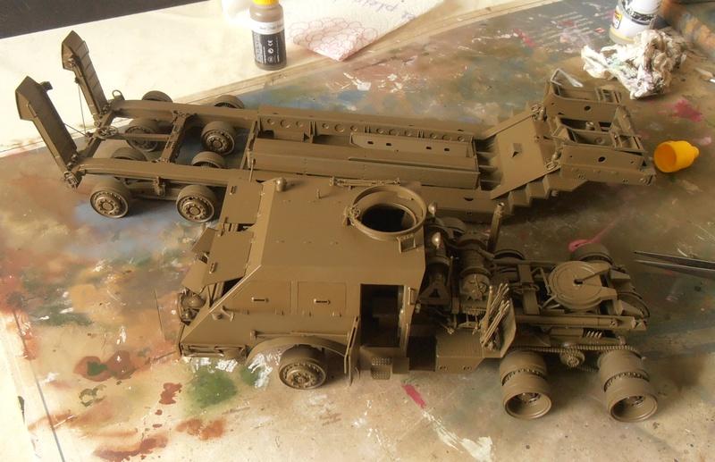 M26 Dragon wagon Tamiya et barge Italeri au 1/35eme - Page 3 P5131615