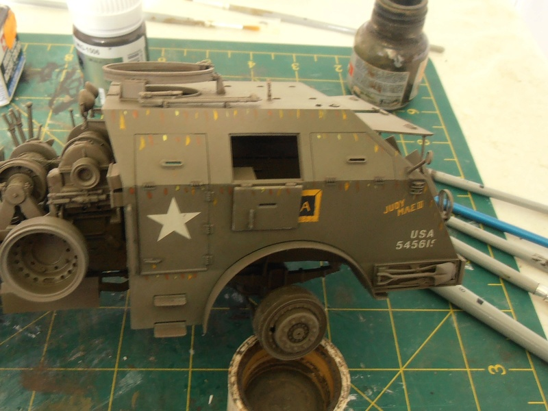 M26 Dragon wagon Tamiya et barge Italeri au 1/35eme - Page 3 P5141713