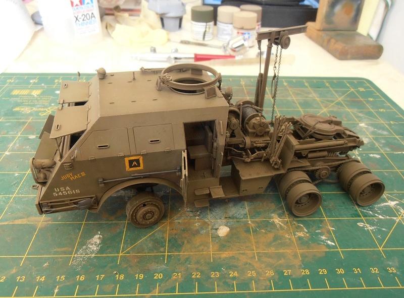 M26 Dragon wagon Tamiya et barge Italeri au 1/35eme - Page 3 P5151710