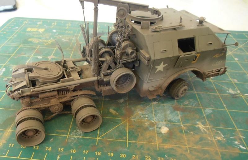 M26 Dragon wagon Tamiya et barge Italeri au 1/35eme - Page 3 P5151713