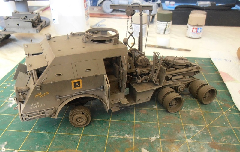 M26 Dragon wagon Tamiya et barge Italeri au 1/35eme - Page 3 P5151716