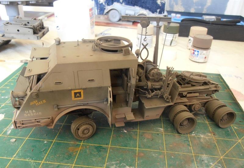 M26 Dragon wagon Tamiya et barge Italeri au 1/35eme - Page 3 P5151718