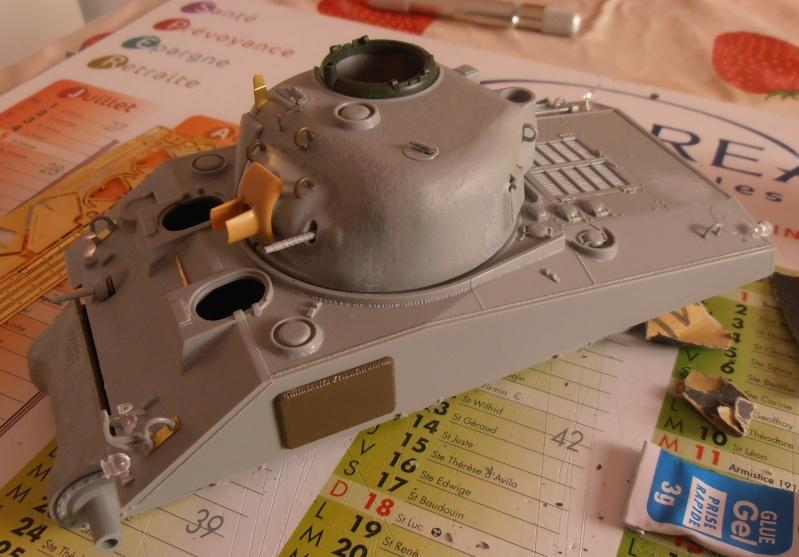 """Sherman M4A2 """" tarentaise """" et AMM 8 """" Massy """" ( la deco ). Pa141110"""