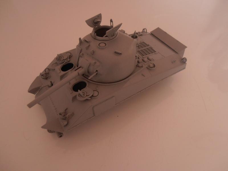 """Sherman M4A2 """" tarentaise """" et AMM 8 """" Massy """" ( la deco ). Pa191210"""