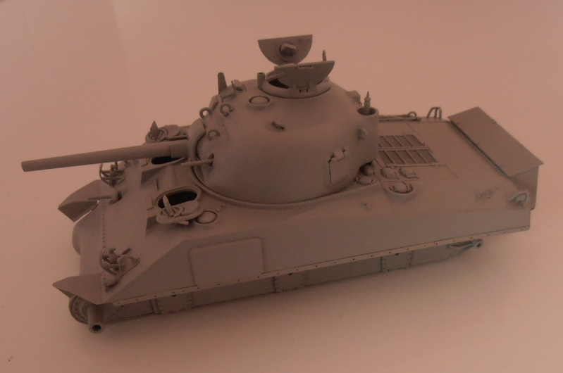 """Sherman M4A2 """" tarentaise """" et AMM 8 """" Massy """" ( la deco ). Pa191211"""