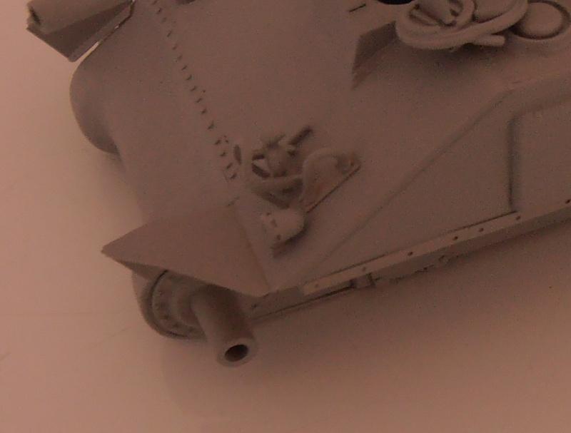 """Sherman M4A2 """" tarentaise """" et AMM 8 """" Massy """" ( la deco ). Pa191213"""