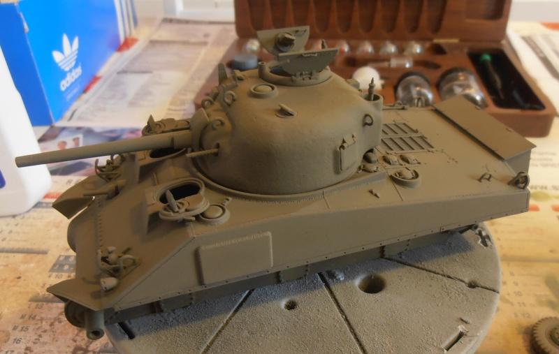 """Sherman M4A2 """" tarentaise """" et AMM 8 """" Massy """" ( la deco ). Pa201210"""