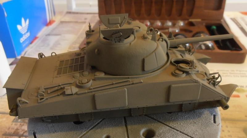 """Sherman M4A2 """" tarentaise """" et AMM 8 """" Massy """" ( la deco ). Pa201211"""
